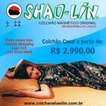 COLCHÃO SHAO-LIN LINHA RIO MAGNÉTICO COM INFRAVERMELHO LONGO