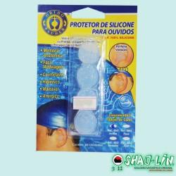 PROTETOR DE SILICONE PARA OUVIDOS